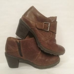 Born Concepts Ankle Booties Brown Leather 6 BOC